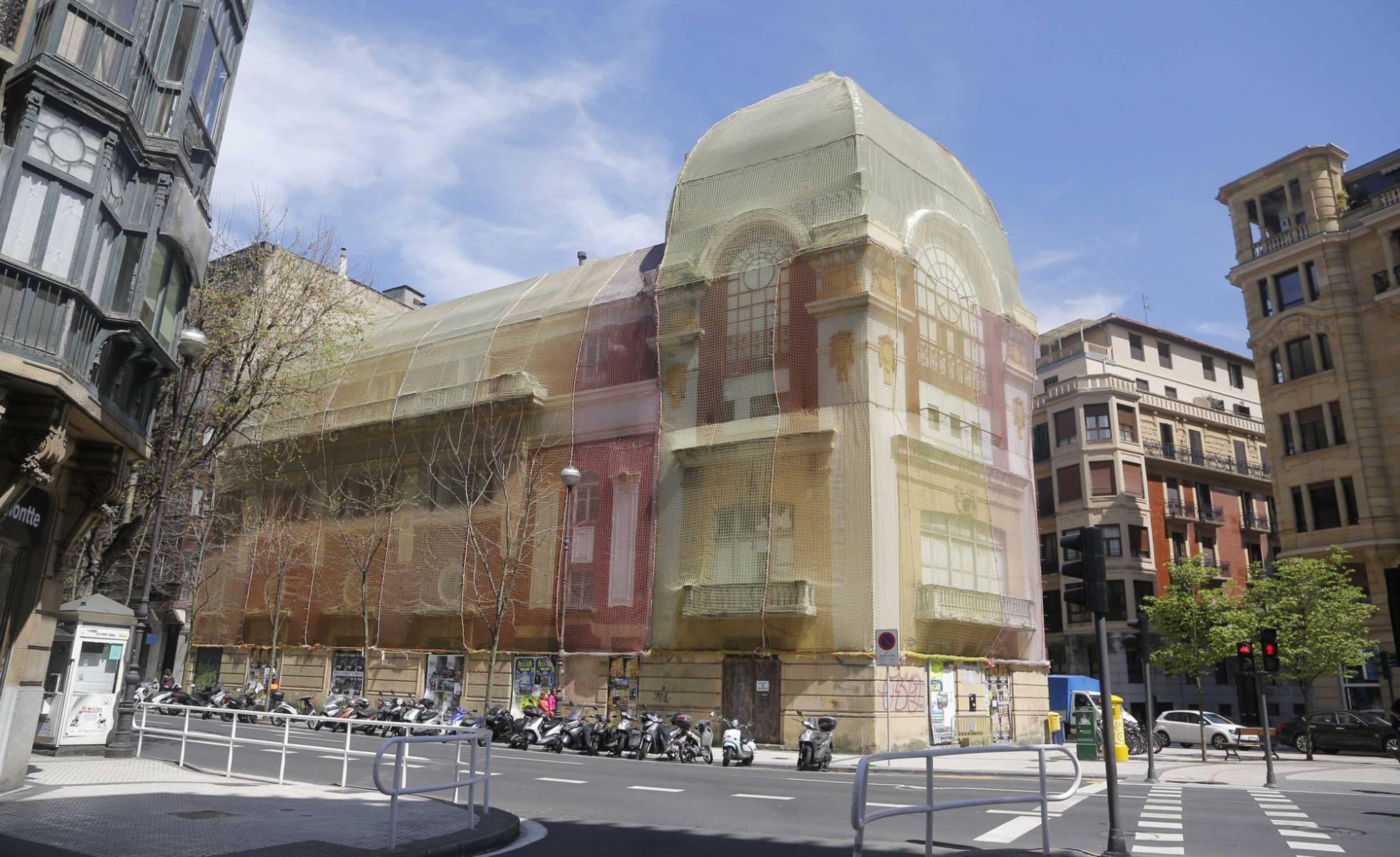 В Сан-Себастьяне просят международной помощи для восстановления старинного кинотеатра