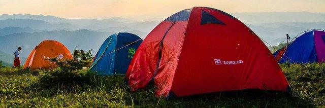 Особенности устройства туристической палатки